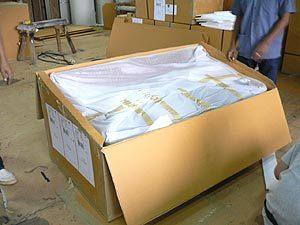 梱包出荷工程のイメージ