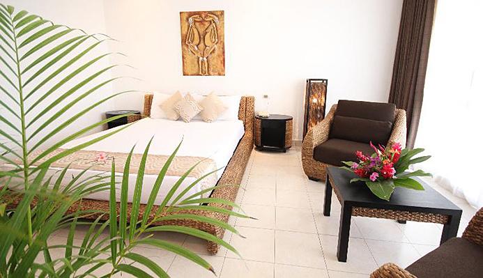 メラネシアンホテル家具使用例